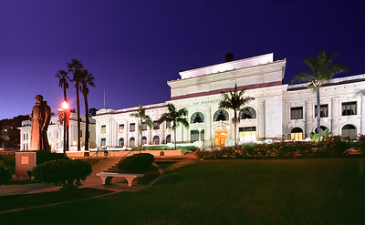 Ventura City Hall at Night
