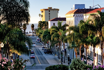 California Street in Downtown Ventura
