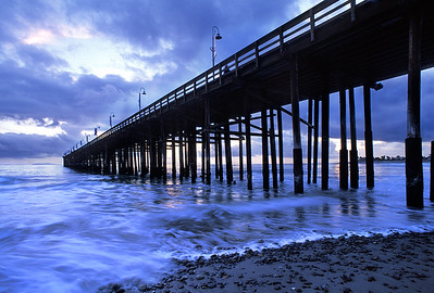 Storm Clearing over the Ventura Pier