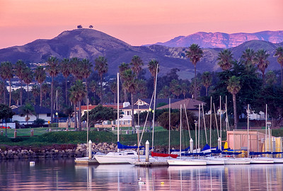 Pink Moment at the Ventura Marina