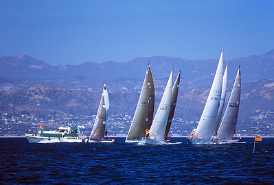 2002 Ventura Cup Starting Line