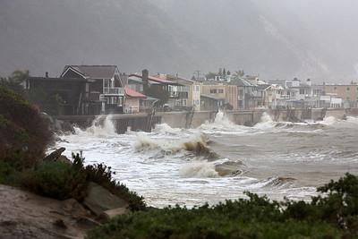 Storm at Faria Beach