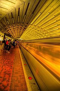 Taking the Metro to D.C. from Germantown