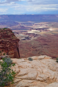 What wagon trains never wanted to see, Canyonlands, Utah