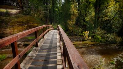 Trail Head, Wolf Creek  Waterfall
