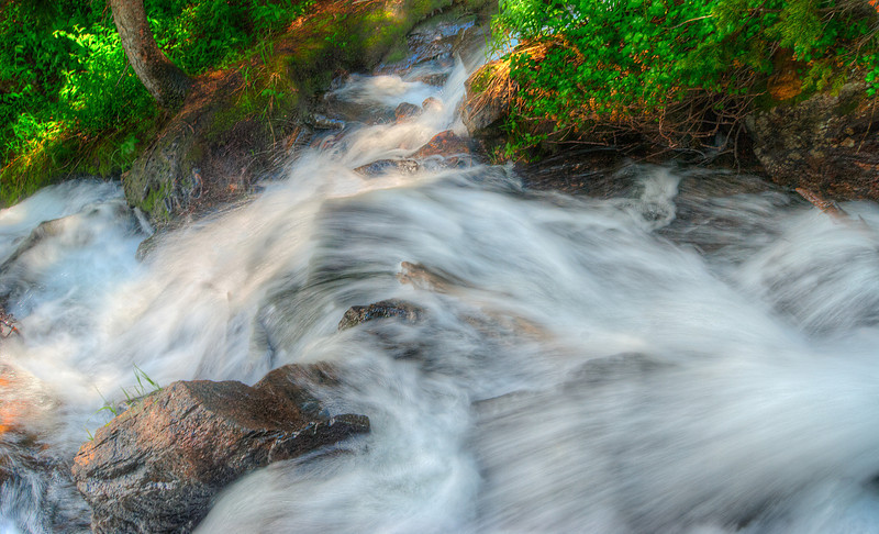 Stream in the Rockies