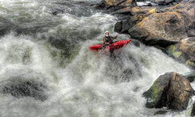 Kayaking the Great Falls