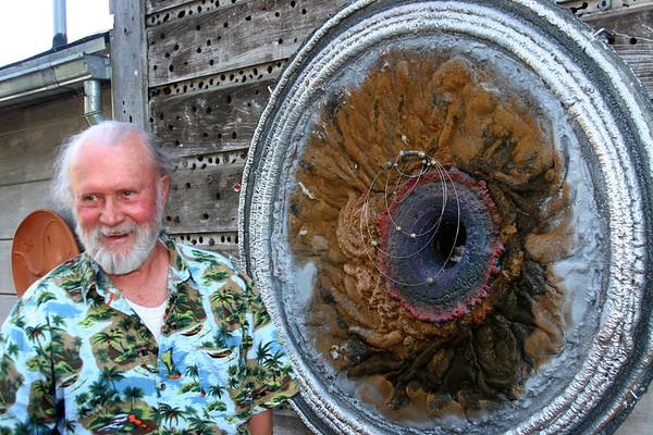 Hawley Sculpture Garden Hwy 128 CA