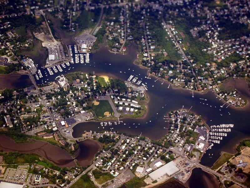 <b>Boats in the Danvers River, North of Boston</b>   (Jun 20, 2003, 01:36pm)