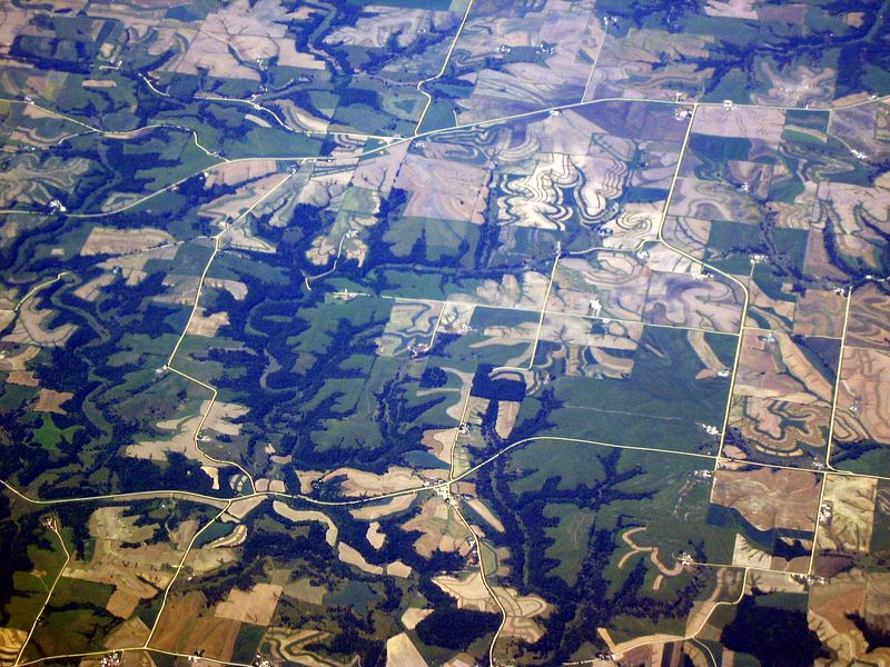 <b>Patterns of vegetation somewhere in the midwest</b>   (Jun 20, 2003, 01:30pm)