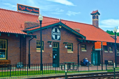 Royal Gorge Train Depot