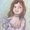 Allie and Lamby (Studio Oil) 18 April 2017