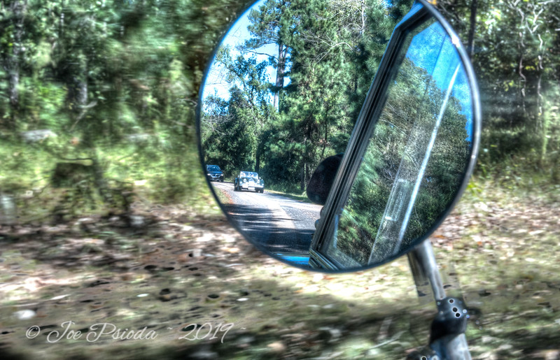 Sports Car in My Rear View Mirror
