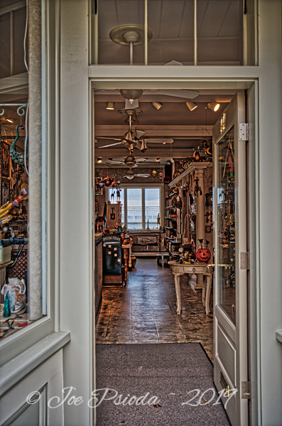 A View Into a Local Shop