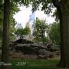Climbing Rocks Inside Central Park