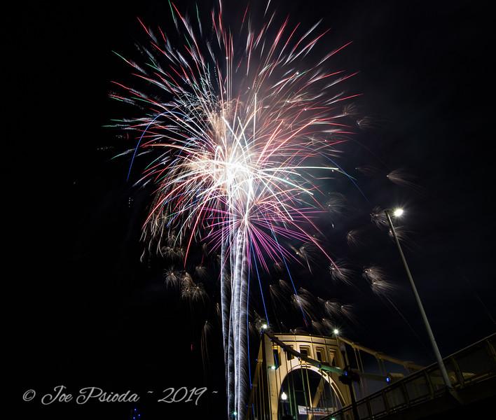 Fireworks at the Ballpark