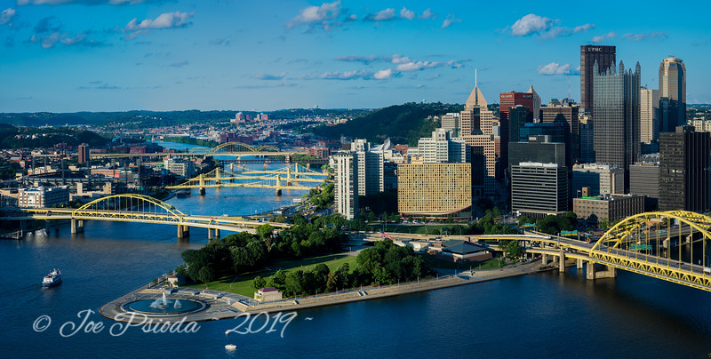 A Mt. Washington View of Pittsburgh