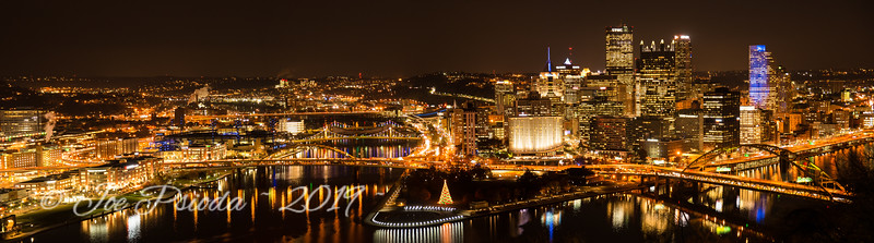 Pittsburgh Cold Fall Night