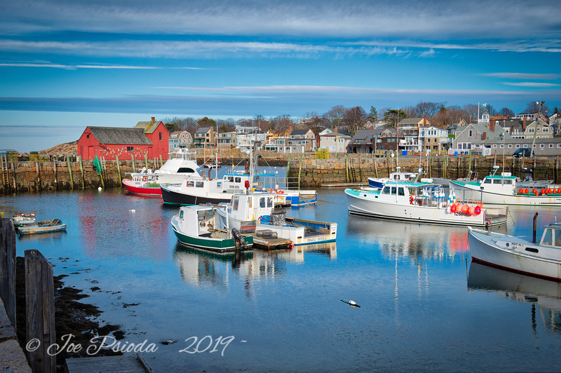 Reflecting On Rockport Harbor