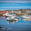 Reflecting On Rockport Harbor