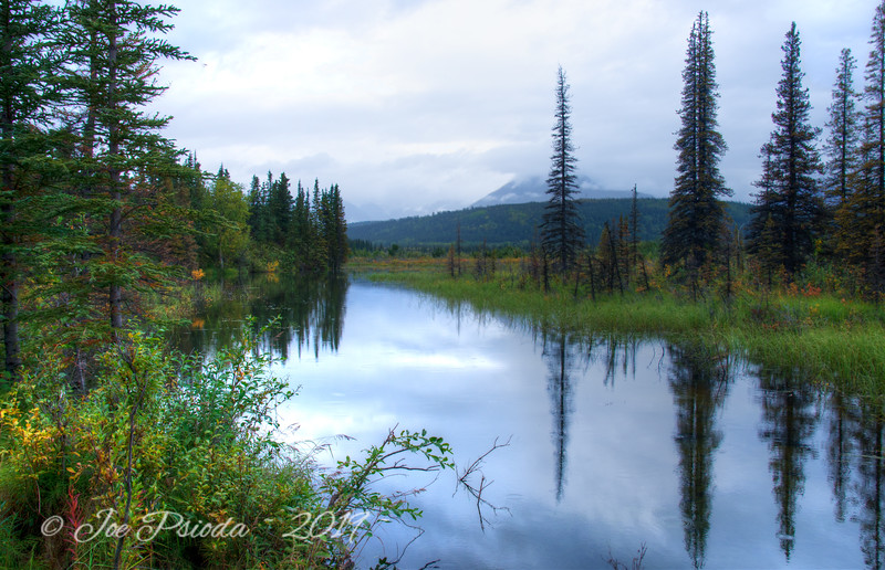 Dusk on the Alaska Range