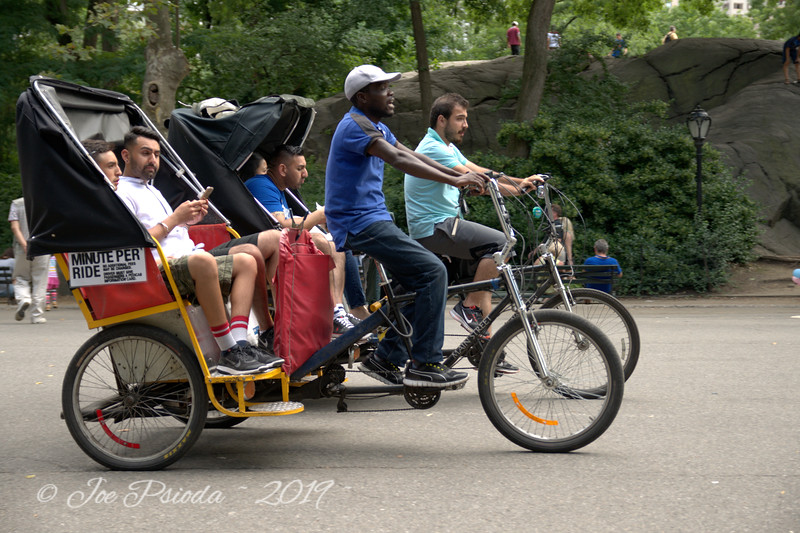 Relaxing Ride in central park