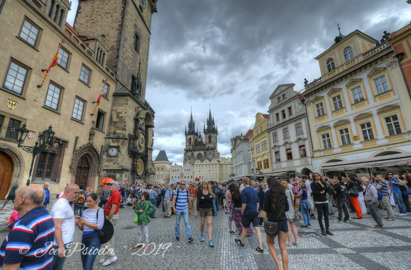 Prague Crowds