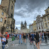 Prague Crowds