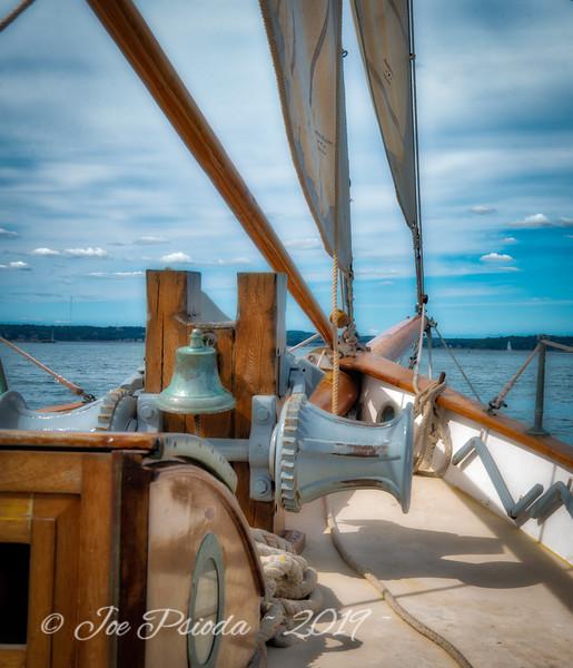 Aboard the 88-foot Schooner Wendameen