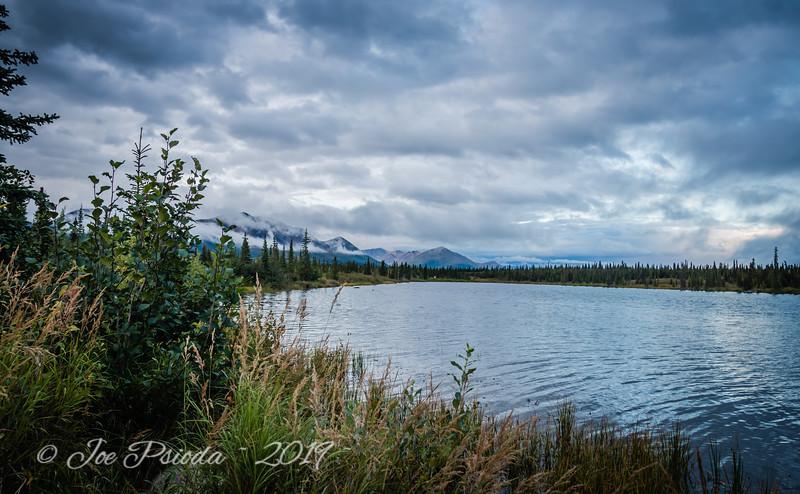 Denali Highway View - Drashner Lake