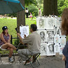 Artists Sketching in Central park