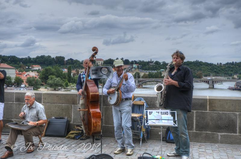 Band on the Charles Bridge - Prague