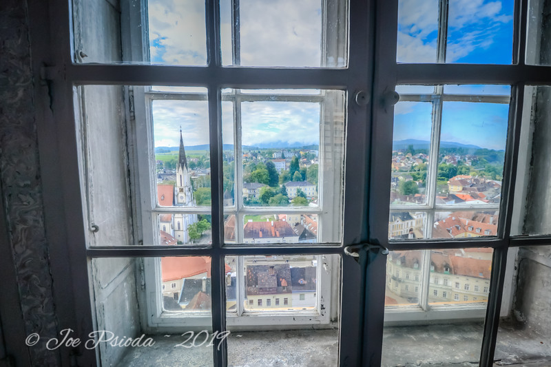 A Window's View of Budapest