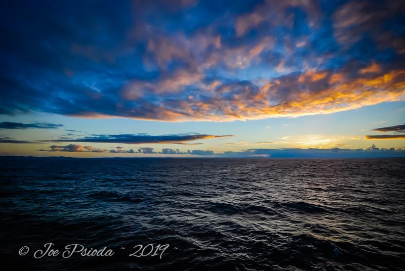 Dawn At Sea