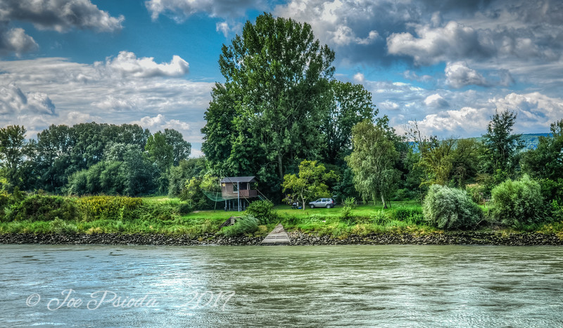 Cottage Along the Danube