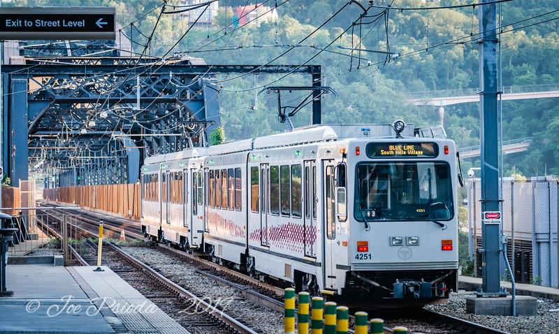 Commuter Train Pittsburgh