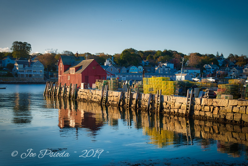 Early Morning in Rockport Harbor