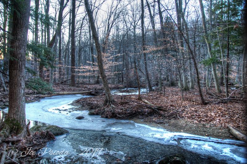 The Meandering Creek Still Freezes