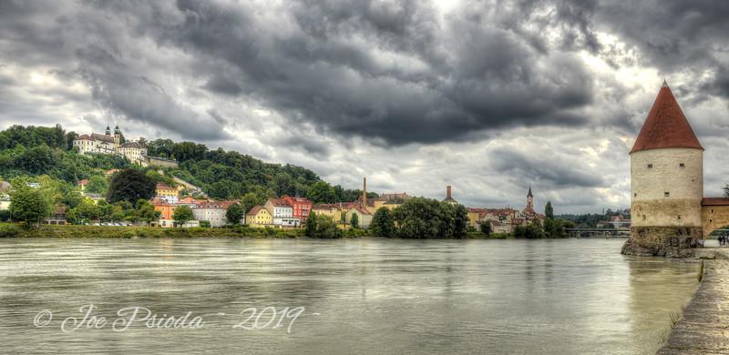 Village Along the Danube