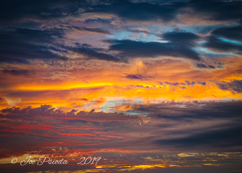 Sunset Into the Heavens