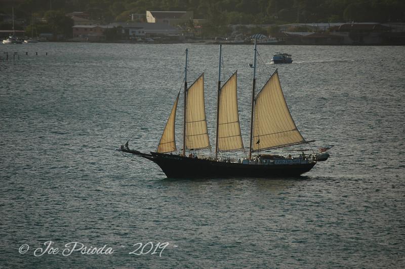 Saint Thomas Clipper Ship