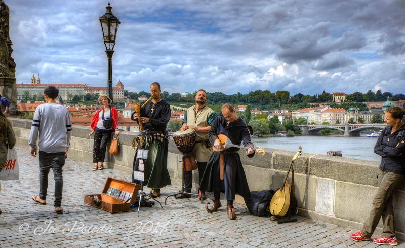 Music on the Charles Bridge