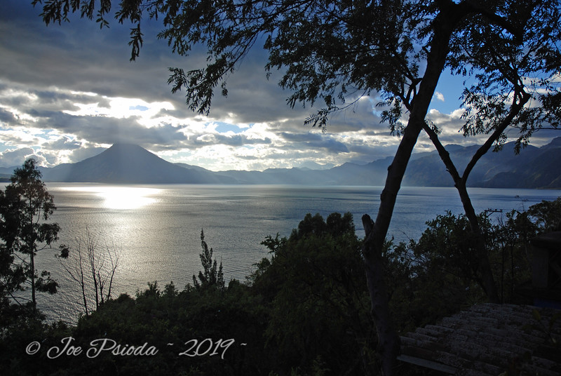 Sunset Over Lake Aitilan