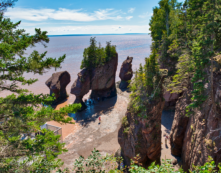 Fundy Tide Entering the Archways