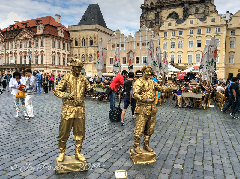 Prague Courtyard