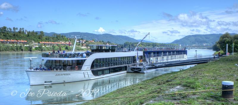 Ama Prima Docked on Danube