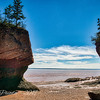 Hopewell Rocks Get a Breather at Low Tide