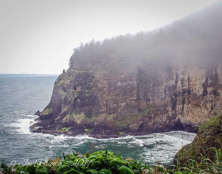 Foggy Cliffside