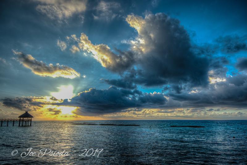 Sunrise Caribbean Mexico