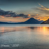 Sunset on Lake Atitlan